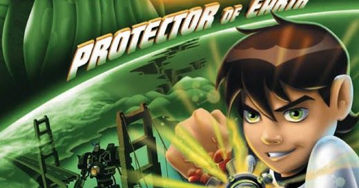 Ben 10 Protector of Earth Android PSP iso+cso Highly