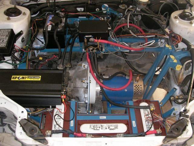 small electric vehicle motors