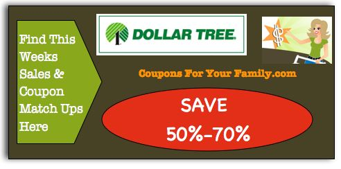 Dollar Tree Coupon Matchups March 6:  Get 28 items for FREE this week!! : #DollarTree, #NationalStores, #Stores Check it out here!!