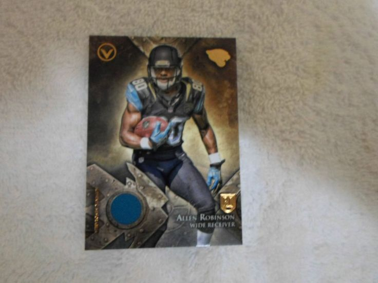 2014 TOPPS VALOR INSERT RC JERSEY CARD ALLEN ROBINSON # VRR- AR #CarolinaPanthers