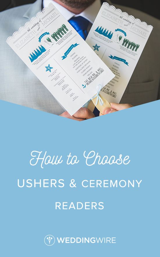 How to Choose Ushers and Ceremony Readers - You've chosen your bridesmaids and groomsmen, so now it's time to assign ushers and ceremony readers! Read on to find out what these jobs entail and how you should pick yours on WeddingWire!  {Lovely Valentine Photo + Film}