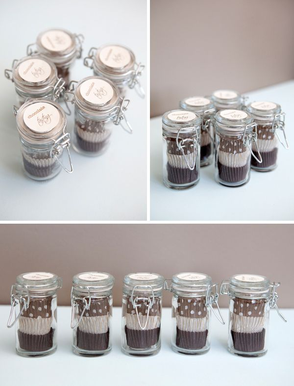 DIY | chocolate tasting favor jars - Something Turquoise {daily bridal inspiration}