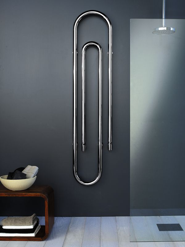 Steel Decorative radiator GRAFFE by SCIROCCO H | #Design Bruna Rapisarda, Lucarelli-Rapisarda #bathroom #clip