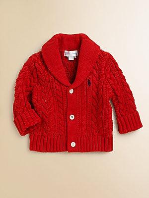 Ralph Lauren Infant's Shawl Collar Cardigan
