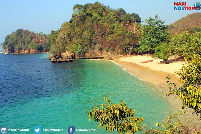 Pesona Pantai Tiga Warna Malang, Pantai Bebas Sampah - Wisata Indonesia
