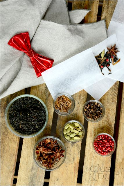 Zimowa herbata korzenna z suszoną śliwką kalifornijską