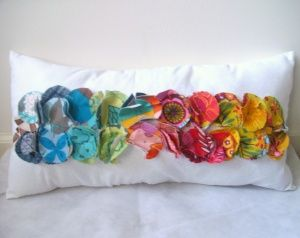 Pillows from Fabric Scraps