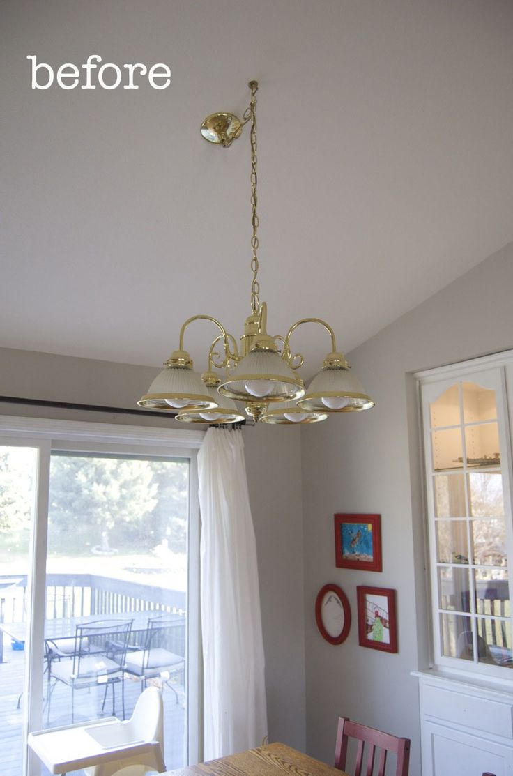 Who Doesn't Love a Good Chandelier Makeover? | matsutake