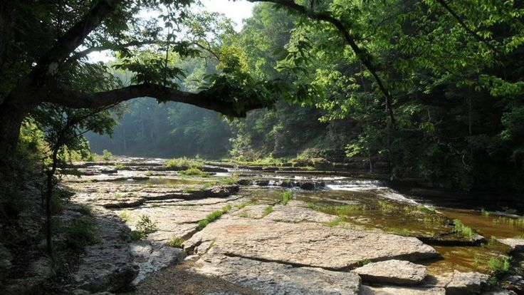 Located on the beautiful Blackburn Fork State Scenic River, this 211-acre day-use park in Jackson County is home to Tennessee's eighth largest waterfall at 75 feet high. Cummins Falls is formed on the Eastern Highland Rim and has been a favorite scenic spot and swimming hole for residents of Jackson and Putnam counties for more than 100 years. Cummins Falls also has been listed as one of the ten best swimming holes in the United States by Travel & Leisure and Conde Naste magazines.