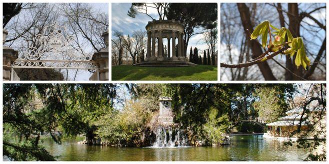 Portada Parque de El Capricho