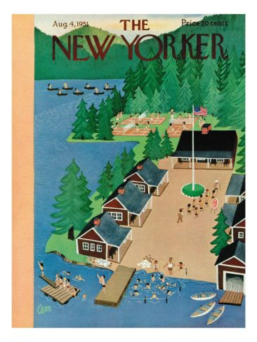 The New Yorker Cover - August 4, 1951
