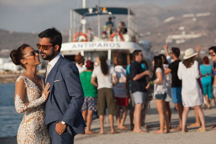 after wedding shooting antiparos boat trip vasia stamatis greece love