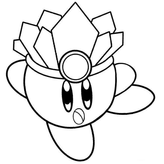 Collection Of Kirby Coloring Pages For Kids Coloring Pages