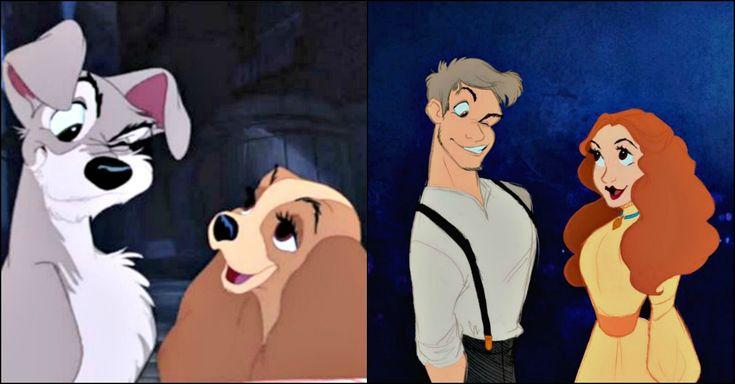 Principesse e principi Disney sono stati rivisitati in quasi tutti i modi possibili e persino le cattive hanno avuto la loro versione pin-up. Dopo i personaggi in carne ed ossa, arriva anche per gli a