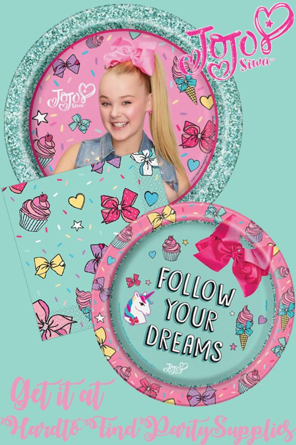 The 113 Best Jojo Siwa Party Images On Pinterest