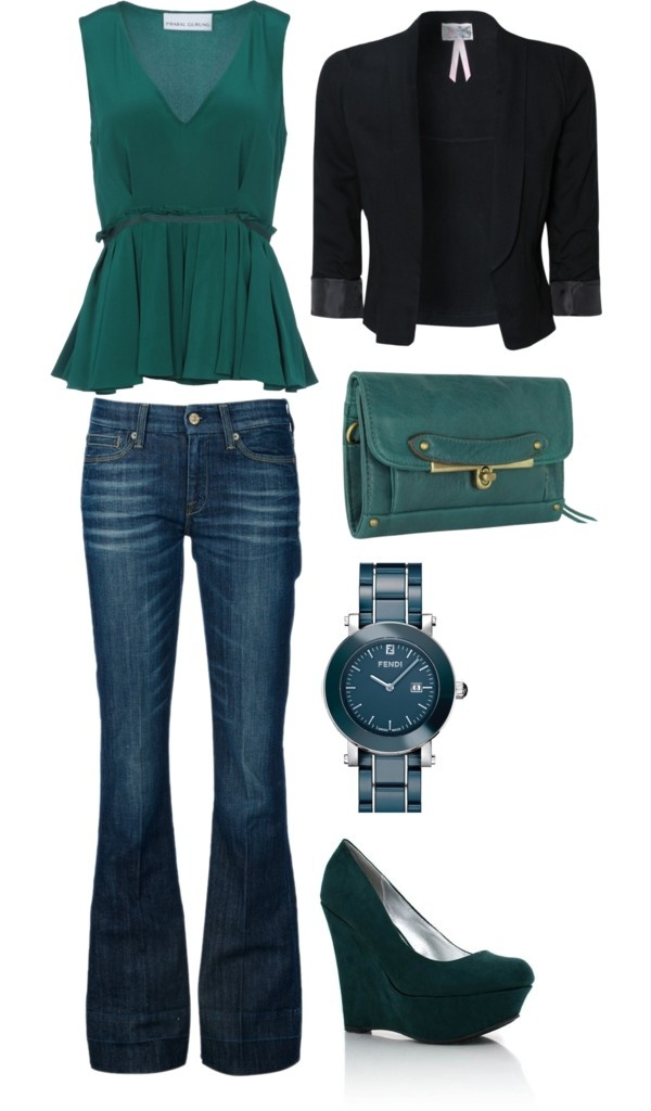 """""""green"""" by deschae on Polyvore"""