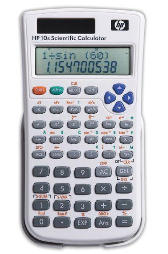 HP 10s Scientific Calculator (F2214AA#ABA) by HP. $8.67. HEWLETT-PACKARD CALCULATORS HP 10S SCIENTIFIC CALCULATOR