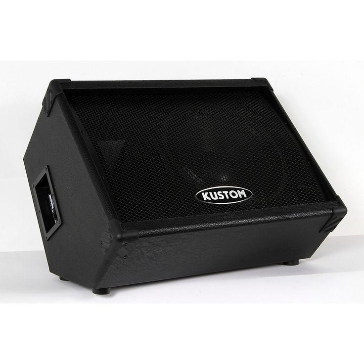 """Kustom KPC12M 12"""" Monitor Speaker Cabinet with Horn Regular 888366010495"""