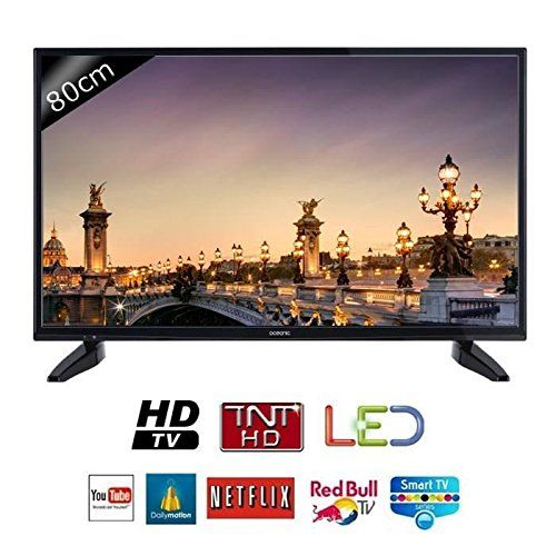 Oceanic tv 32s0316b3 – hd – 80cm (31,5 pouces) – led – smart tv – 2 hdmi – classe a+ | Your #1 Source for Televisions, Audio & Video and Home Theater