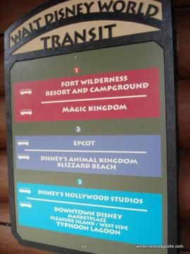 Using the Walt Disney World Bus System from the Wilderness Lodge