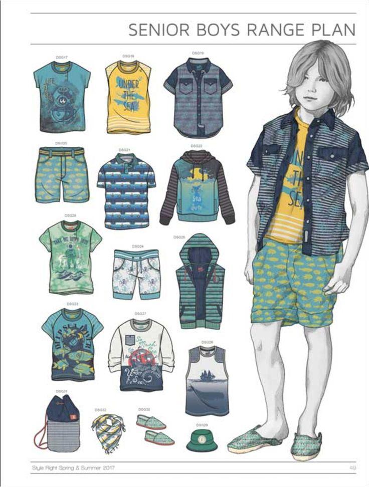Tendance bon style Kidswear livre - S / S 2017 - Mode Enfant - Styling ...