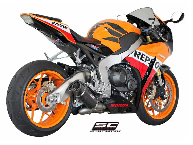 HONDA CBR 1000RR '08-13 EXHAUST BY SC-PROJECT
