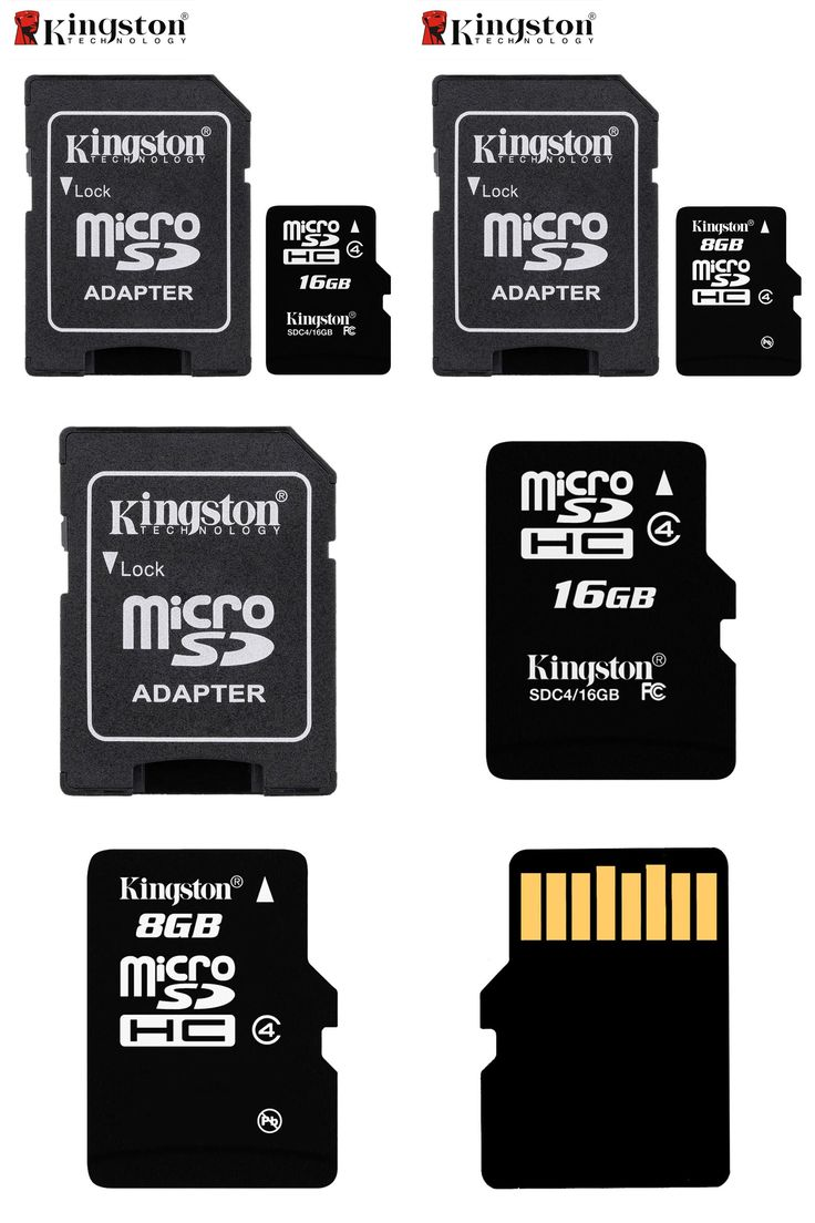 [Visit to Buy] Kingston Micro SD Card Memory Card 8GB 16GB Class 4 Microsd Cartao de Memoria Tarjeta Micro SD for MicroSDHC TF Flash Device #Advertisement