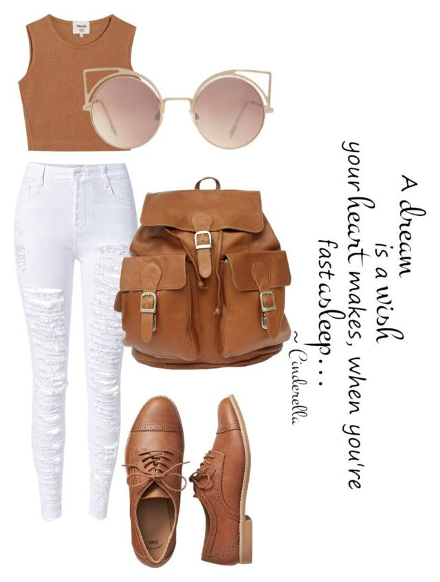 """""""ciner"""" by oliviasjstad on Polyvore featuring WithChic, Gap, Samuji and MANGO"""