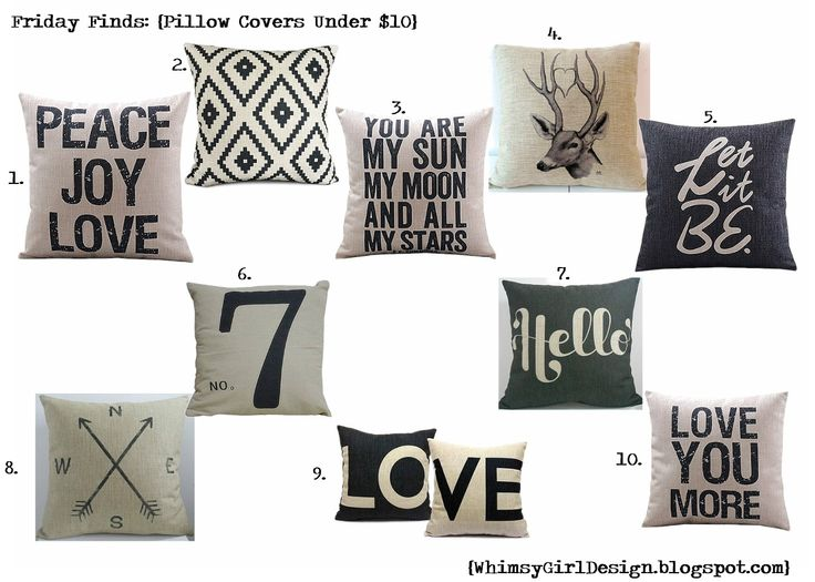 Cheap Decorative Pillows Under $10 Prepossessing 691 Best Pillow Fun~ Images On Pinterest  Christmas Deco Christmas Design Ideas