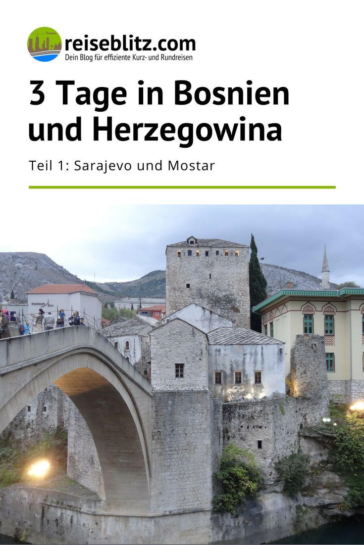 Hand aufs Herz: Was weißt du über Bosnien und Herzegowina? Wir geben zu, bei uns war es bis Oktober 2016 nicht sehr viel. Grund genug, uns einmal umzusehen!