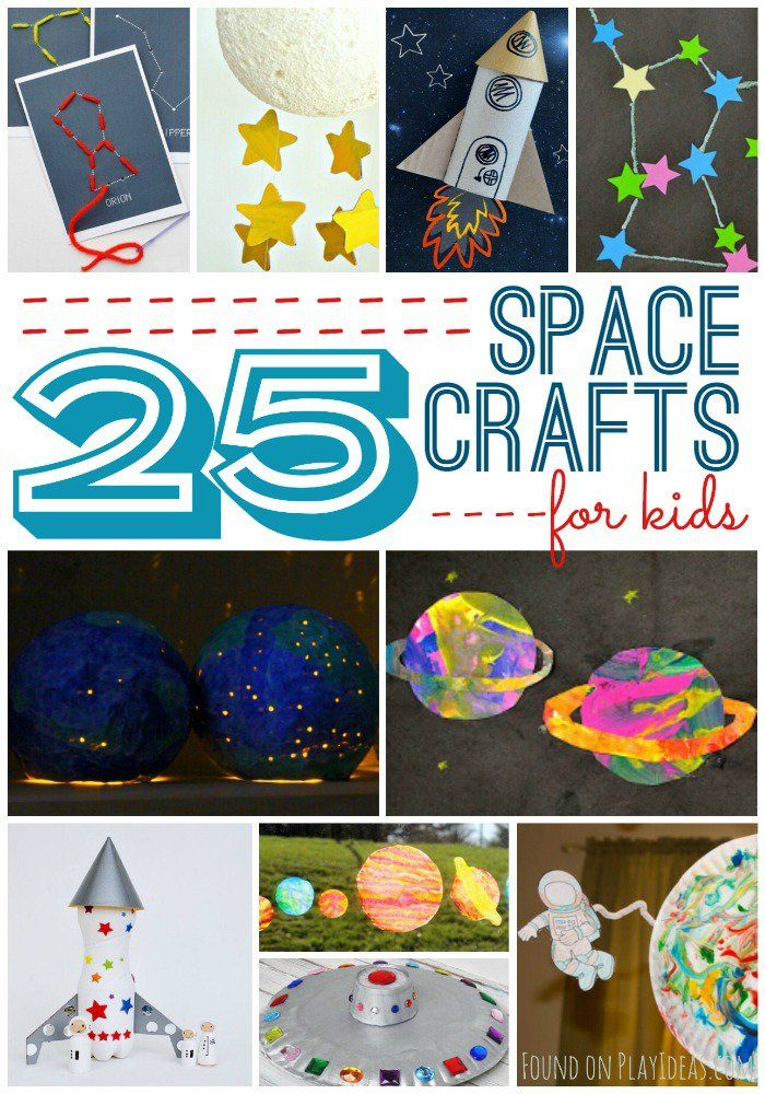 25 Inspiring Space Crafts For Kids (con imágenes ...