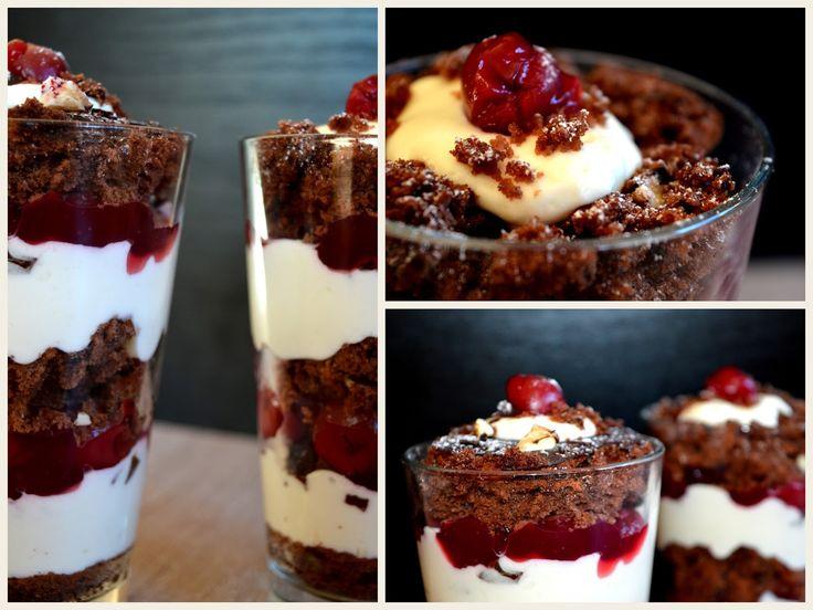 Julias zuckersüße Kuchenwelt: Schwarzwälder-Kirsch-Torte im Glas