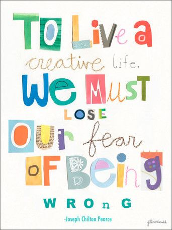 To Live A Creative Life Canvas Art