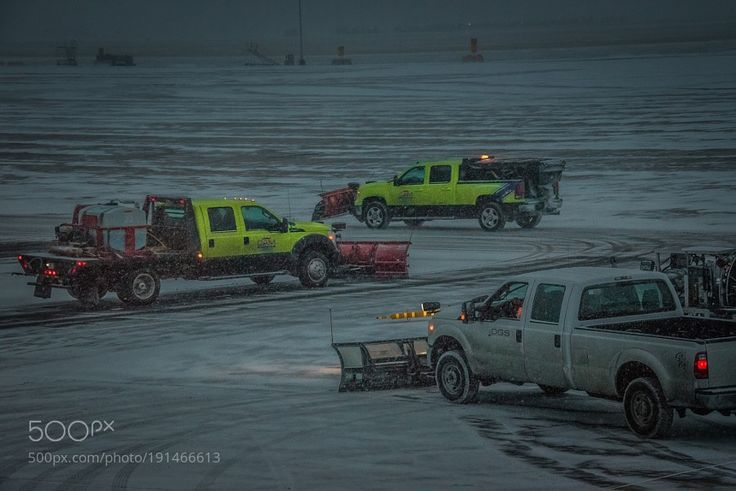Popular on 500px : Clearing the Runway by onur10