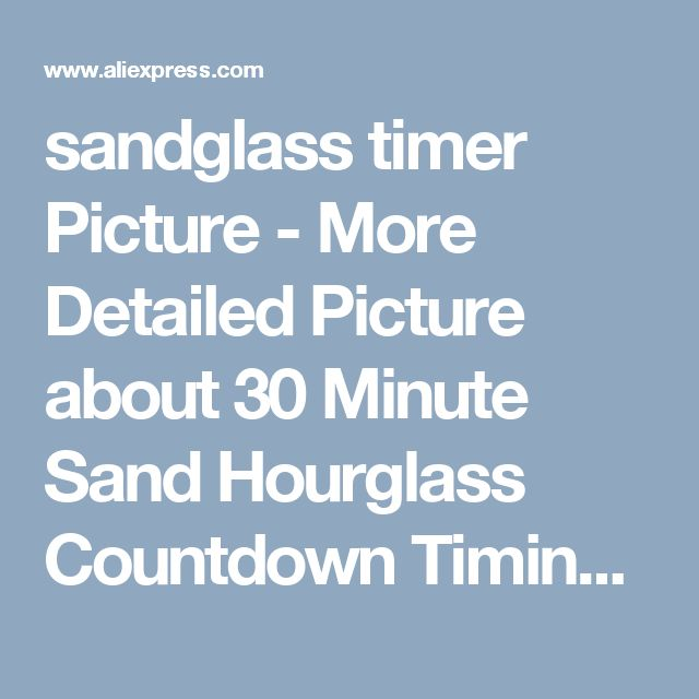 sandglass timer Picture - More Detailed Picture about 30 Minute Sand Hourglass Countdown Timing Rotation Sandglass Timer Clock Bronze European Style Home Decoration ampulheta Picture in Hourglasses from Denny's wholesale store | Aliexpress.com | Alibaba Group
