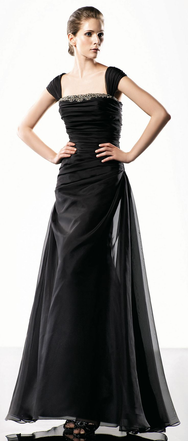 prom dress with sleeves