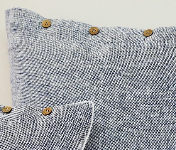 Heather Blue Cushion Covers