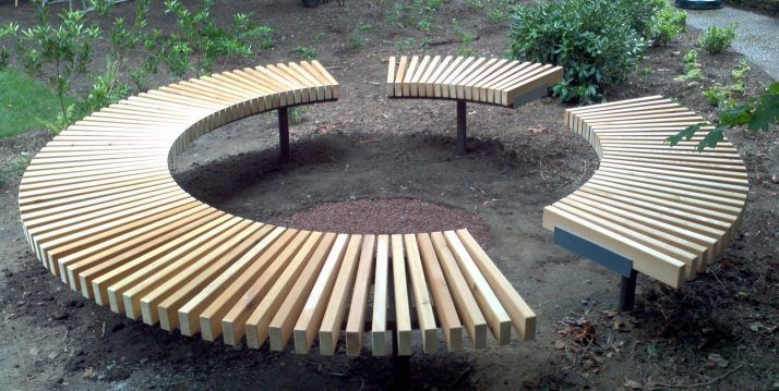 Magnificent Circular Benches 62 Perfect Furniture On Circular Wooden Cjindustries Chair Design For Home Cjindustriesco