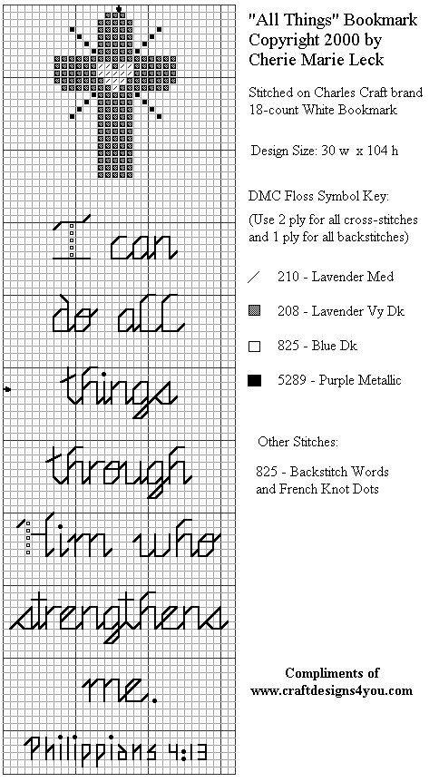 Free Christian Cross Stitch Patterns | Christian Craft Patterns for Sale at Craft Designs for You