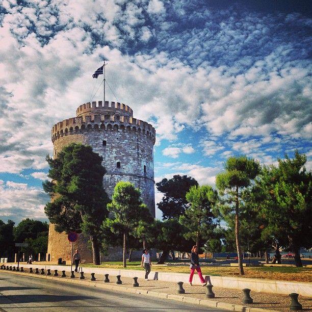 Λευκός Πύργος (White Tower) στην πόλη Θεσσαλονίκη, Θεσσαλονίκη