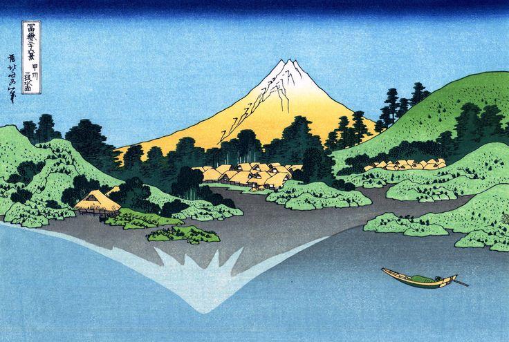 葛飾北斎 Kztsusika Hokusai