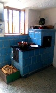Old school kitchen of our grandmothers
