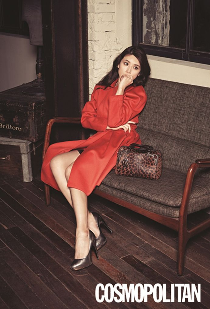 Lee Bo Young - Cosmopolitan Magazine December Issue '13