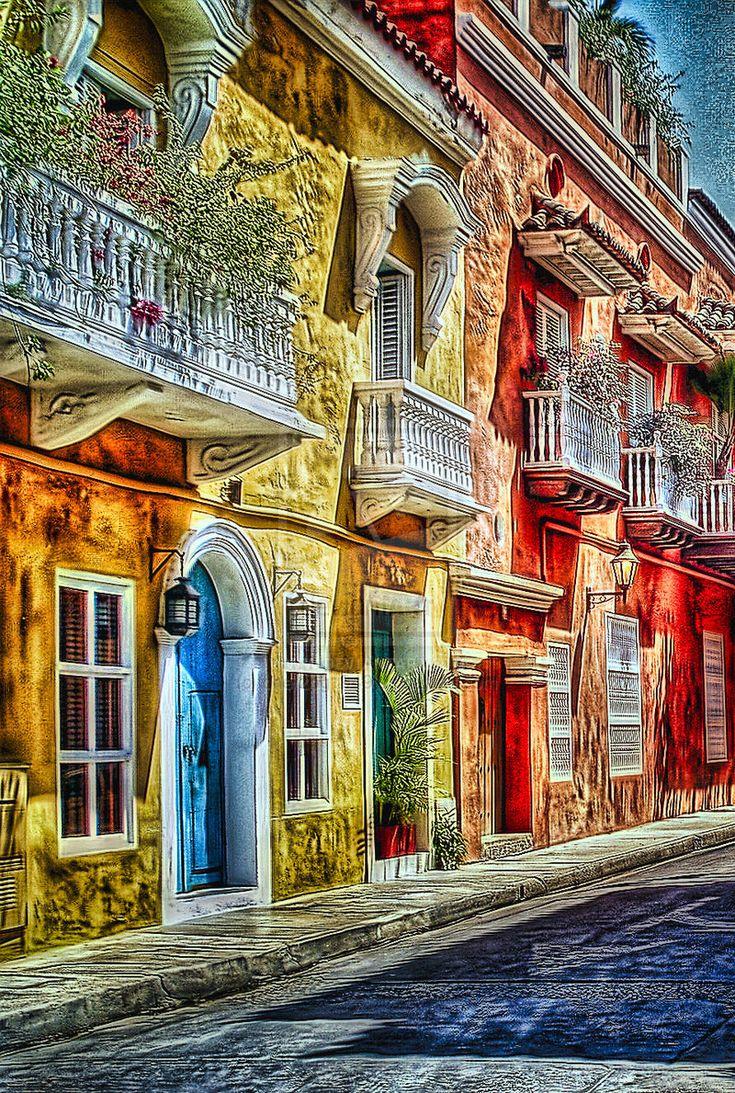 Los balcones de Cartagena