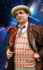 Sylvester McCoy the 7th Doctor (1987-1989, 1996)