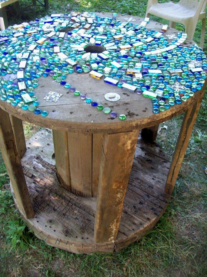 97 besten Gartendeko Bilder auf Pinterest Kabeltrommel - gartendeko selber bauen