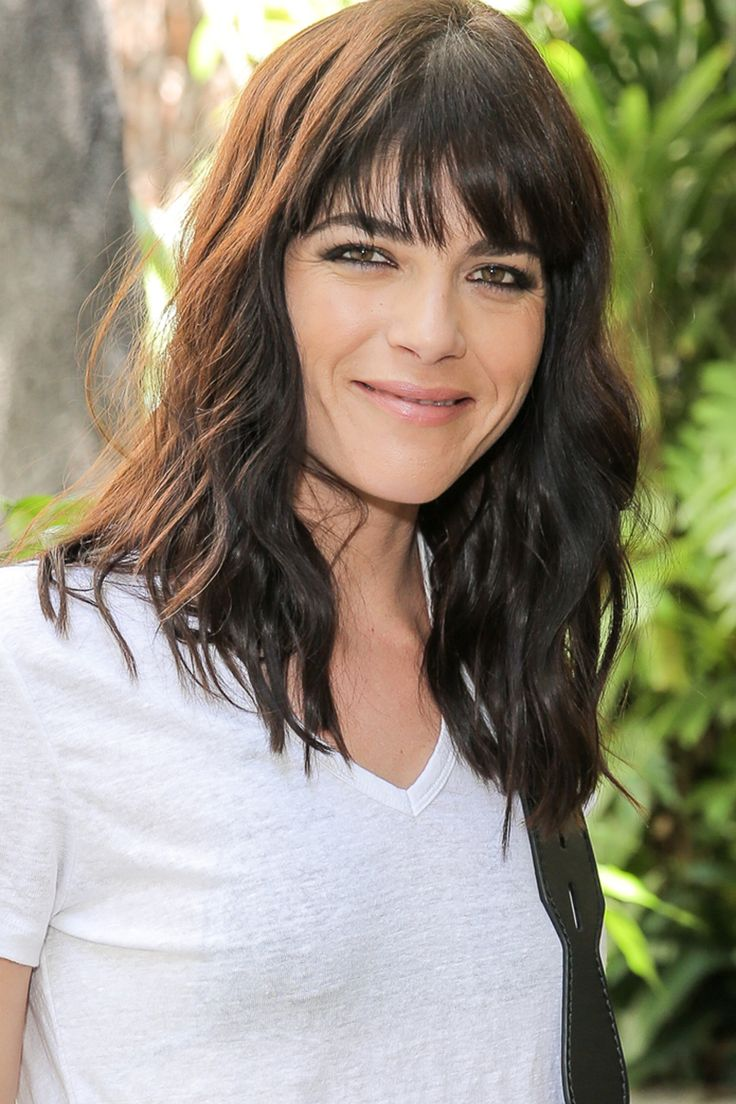 Selma Blair Medium Hairstyle