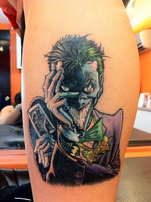 Batman Joker Card Tattoo 47 best joker t...