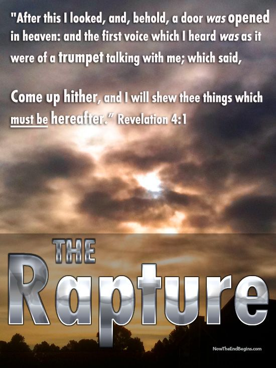 Rapture soon and very soon, yay!  (for believers who claim Jesus as Lord and Savior, won't you today?)