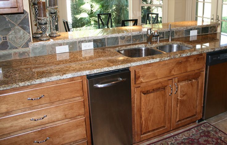 crema bordeaux granite kitchen countertops island
